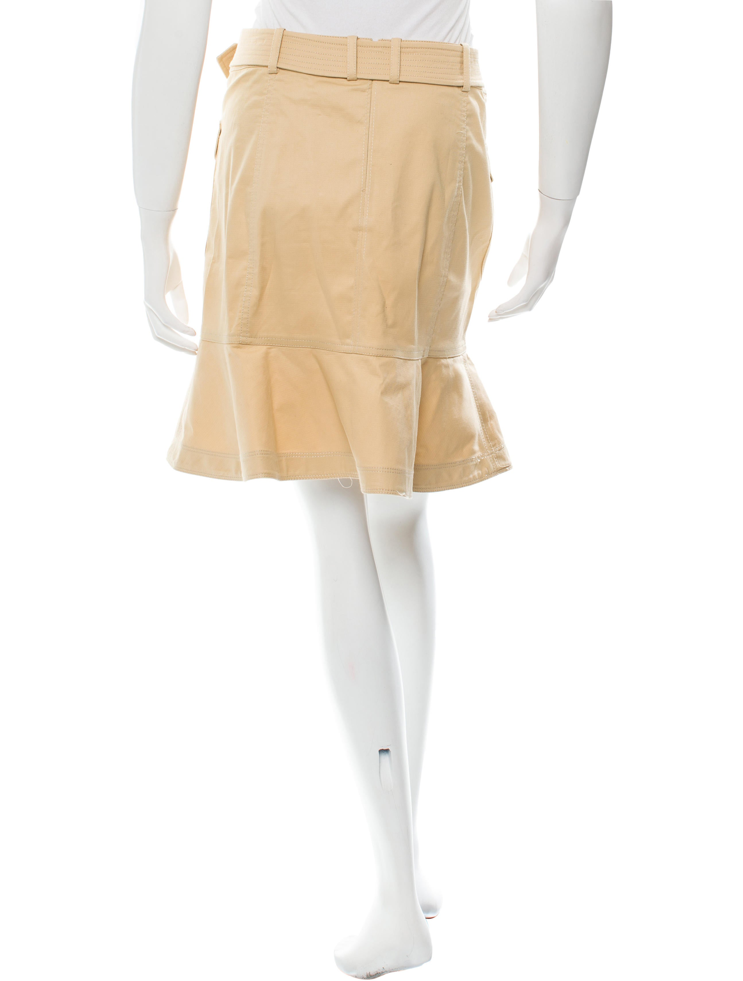 Belted Mini Skirt 105