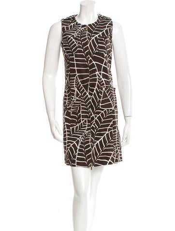 Tory Burch Patterned Mini Dress
