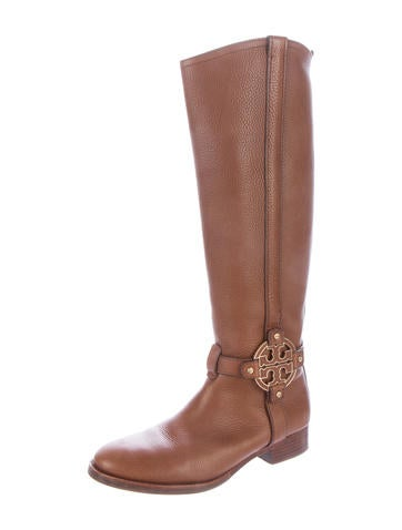 a163273ed61c Tory Burch Amanda Riding Boots - Shoes - WTO71289