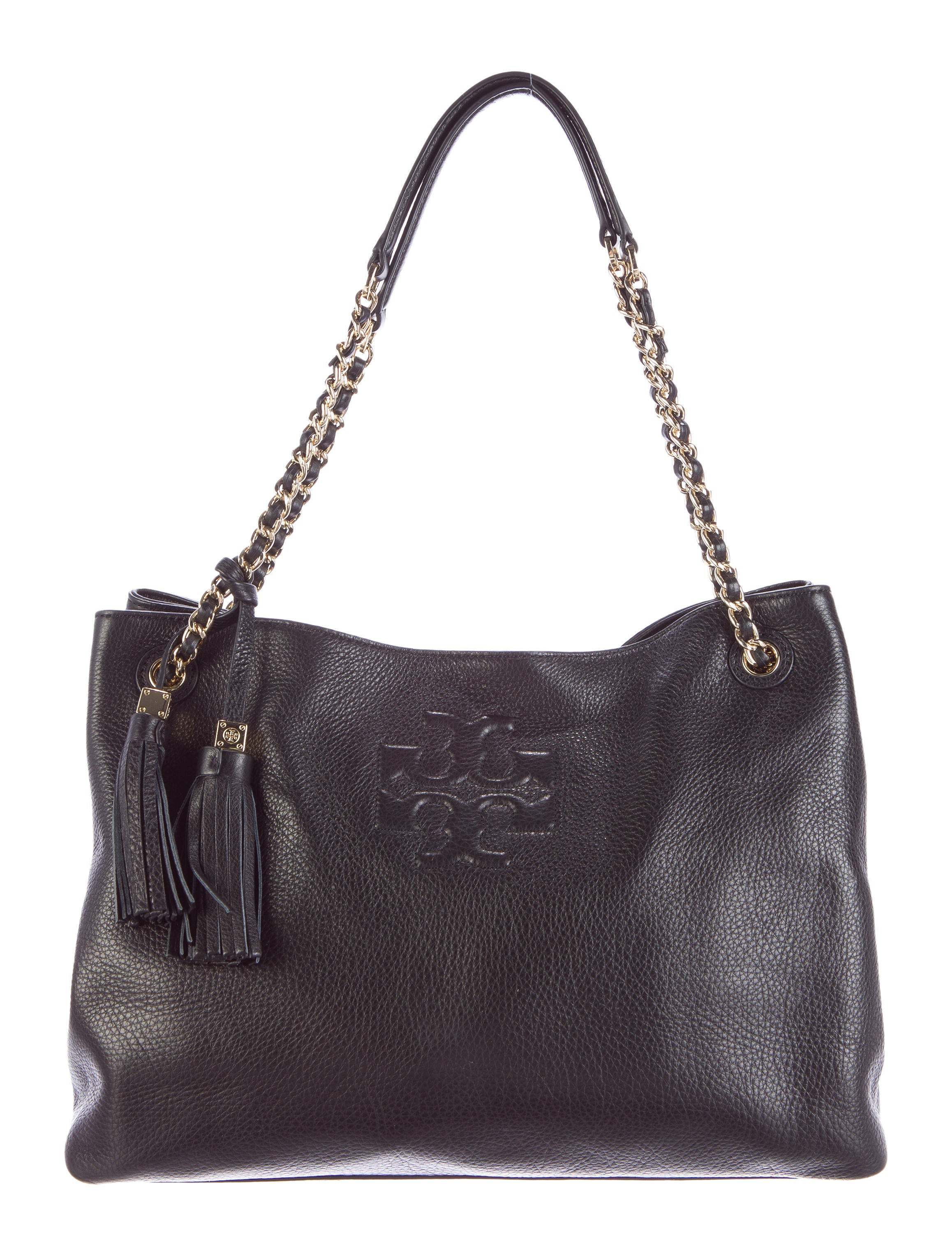 82f5bac4f28 Tory Burch Thea Chain Shoulder Slouchy Tote - Handbags - WTO73191 ...