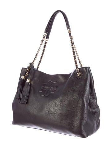 a0aecfaaa9ef Tory Burch Thea Chain Shoulder Slouchy Tote - Handbags - WTO73191 ...