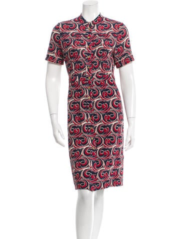 Tory Burch Patterned Knee-Length Dress None