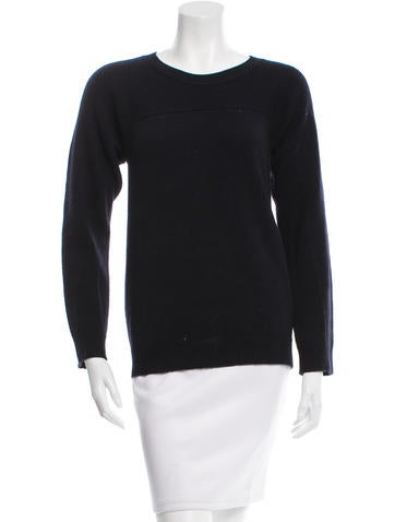 Tory Burch Knit Crew Neck Sweater None