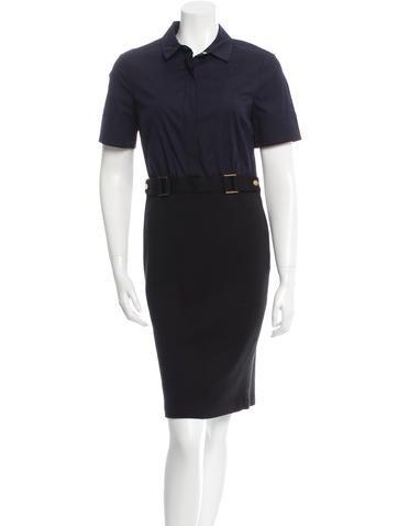 Tory Burch Short Sleeve Knee-length dress None