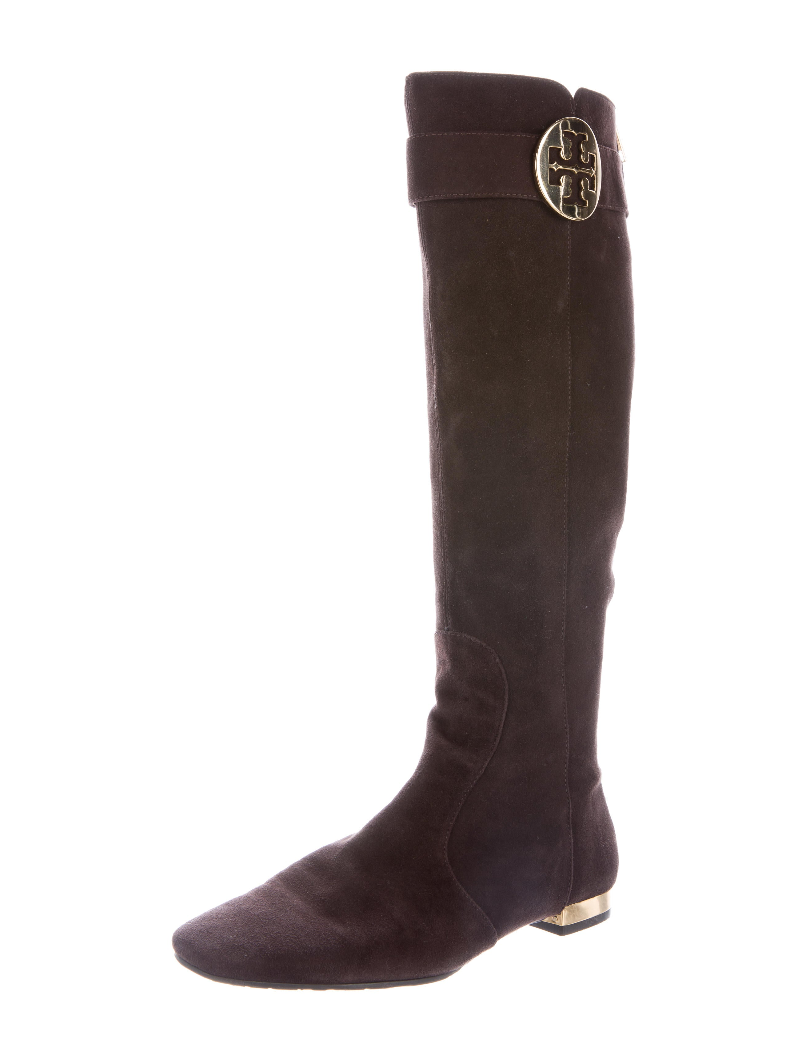 burch uma suede boots shoes wto75473 the realreal