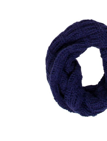 Knitted Logo Snood w/ Tags