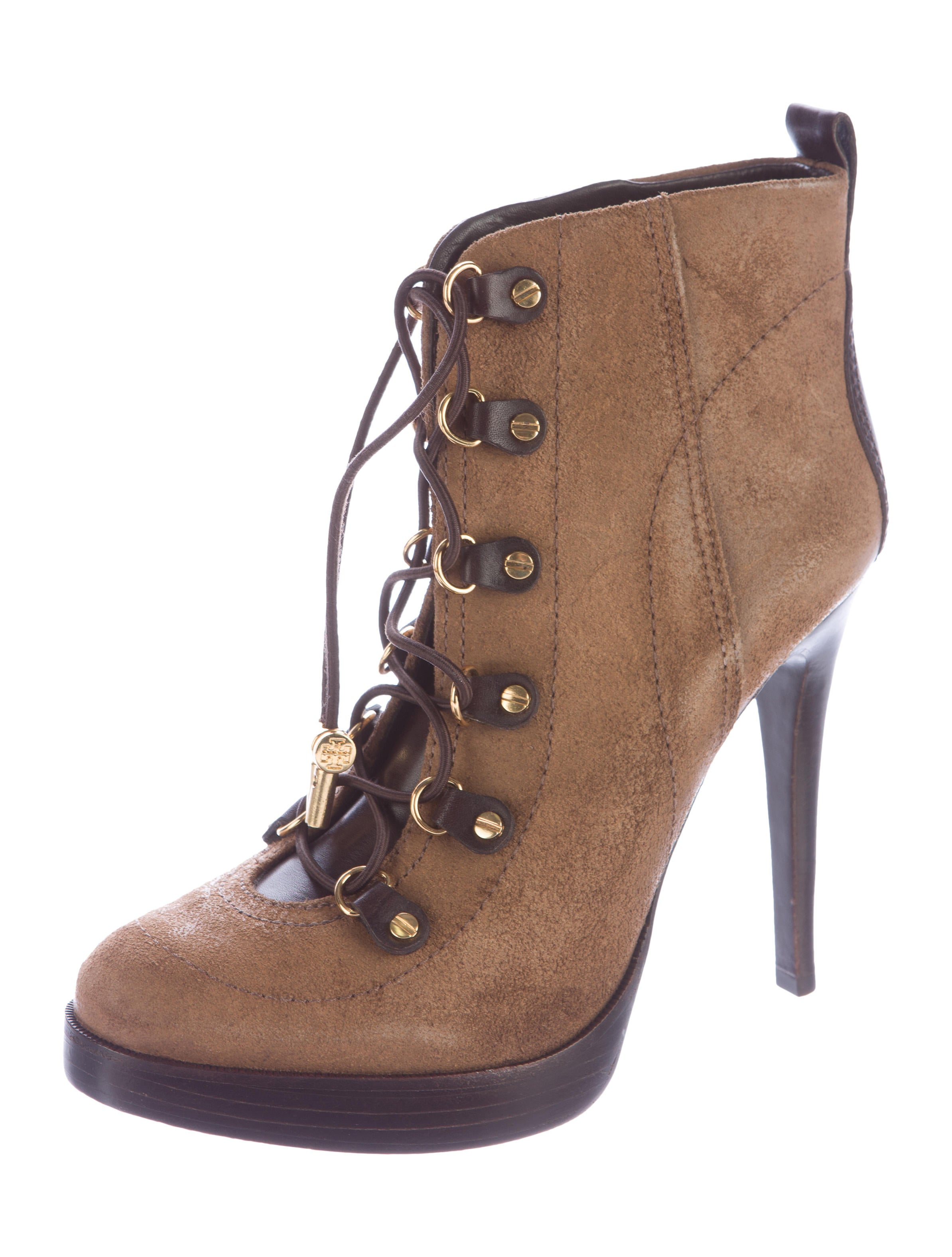 burch suede lace up ankle boots shoes wto77015