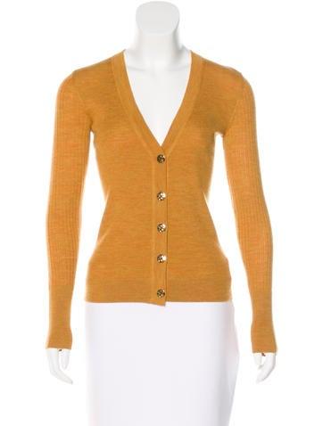 Tory Burch Rib knit Wool Cardigan w/ Tags None