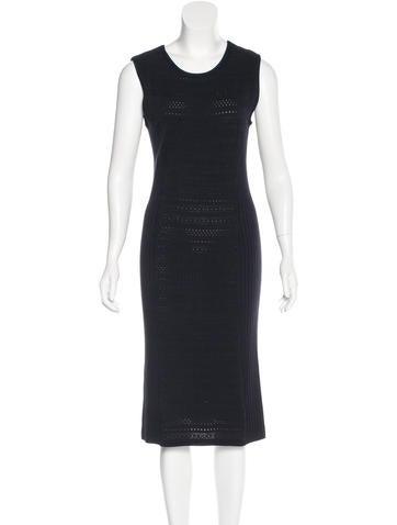 Tory Burch Knit Midi Dress None