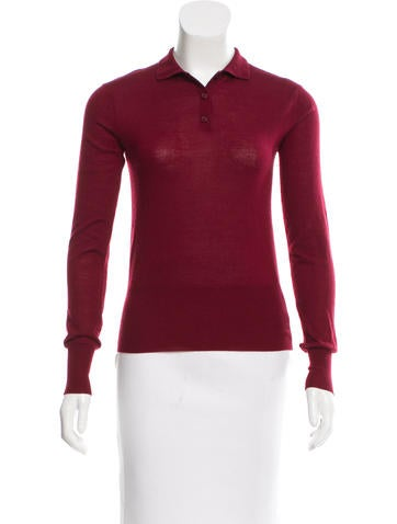 Tory Burch Knit Button-Up Top None