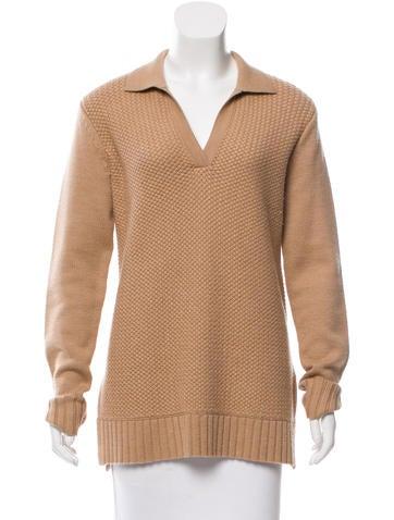 Tory Burch Wool Long Sweater None