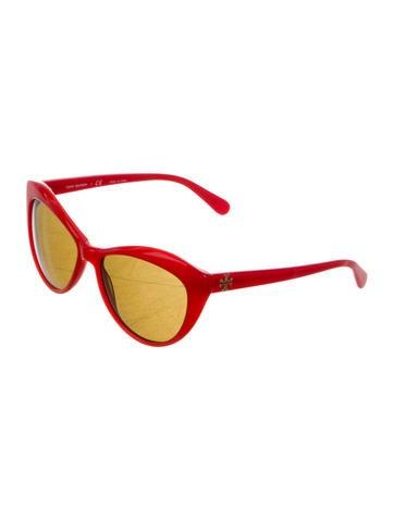 Tinted Cat-Eye Sunglasses