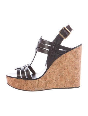 Tory Burch Leslie Wedge Sandals None