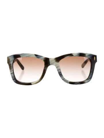 Tory Burch Marbled Sunglasses None