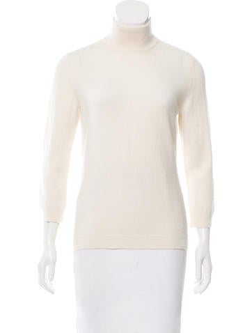 Tory Burch Cashmere Turtleneck Top None