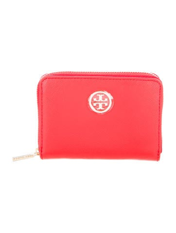 Tory Burch Leather Coin Pouch None