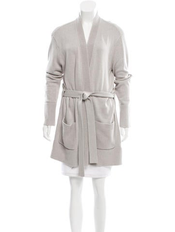 Tory Burch Knit Wrap Cardigan None