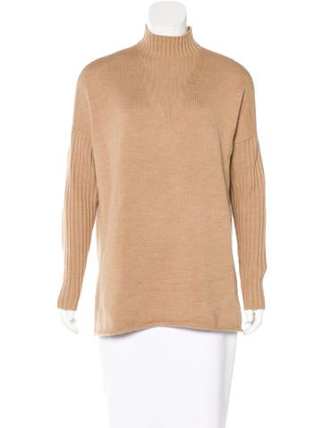 Tory Burch Wool Turtleneck Sweater None