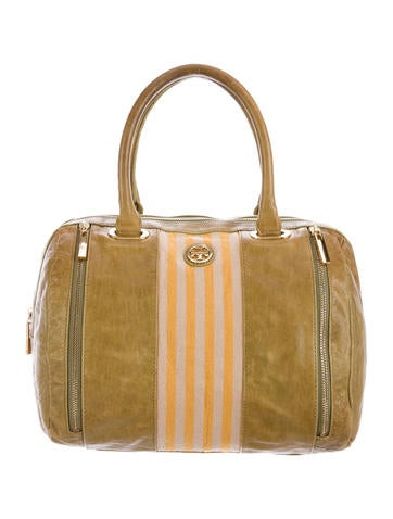 Tory Burch Distressed Leather Bag None