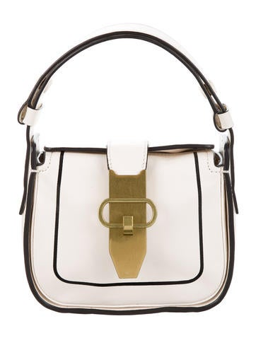Tory Burch Leather Handle Bag None