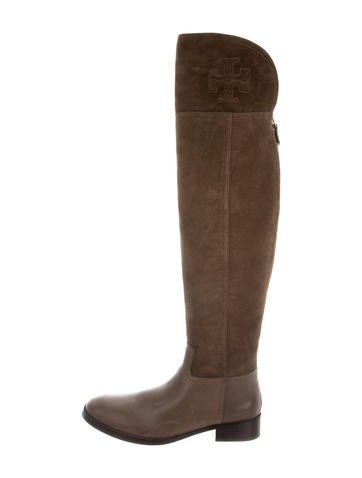 Tory Burch Simone Over-The-knee Boots None