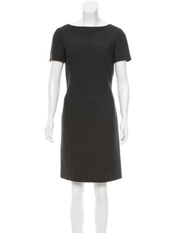 Tory Burch Wool-Blend Knee-Length Dress None