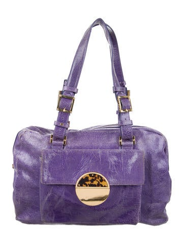 Tory Burch Distressed Leather Tote None