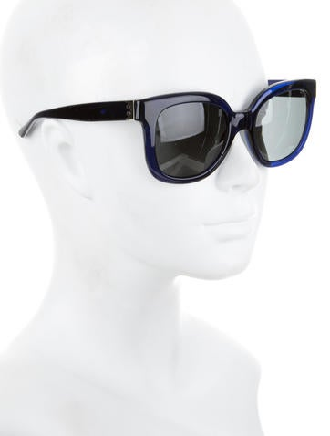 Acetate Tinted Sunglasses w/ Tags