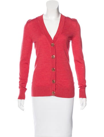 Tory Burch Wool Cardigan None