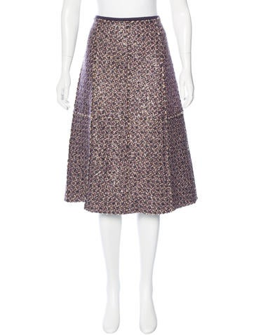 Tory Burch Kennedy Embellished Skirt w/ Tags None