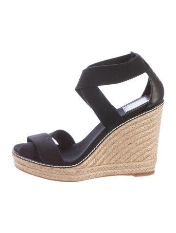 Tory Burch Woven Espadrille Sandals None