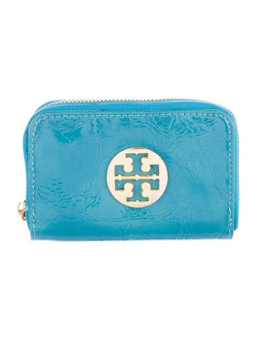Tory Burch Logo-Embellished Coin Pouch None