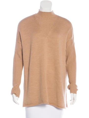 Tory Burch Wool Long Sleeve Sweater None