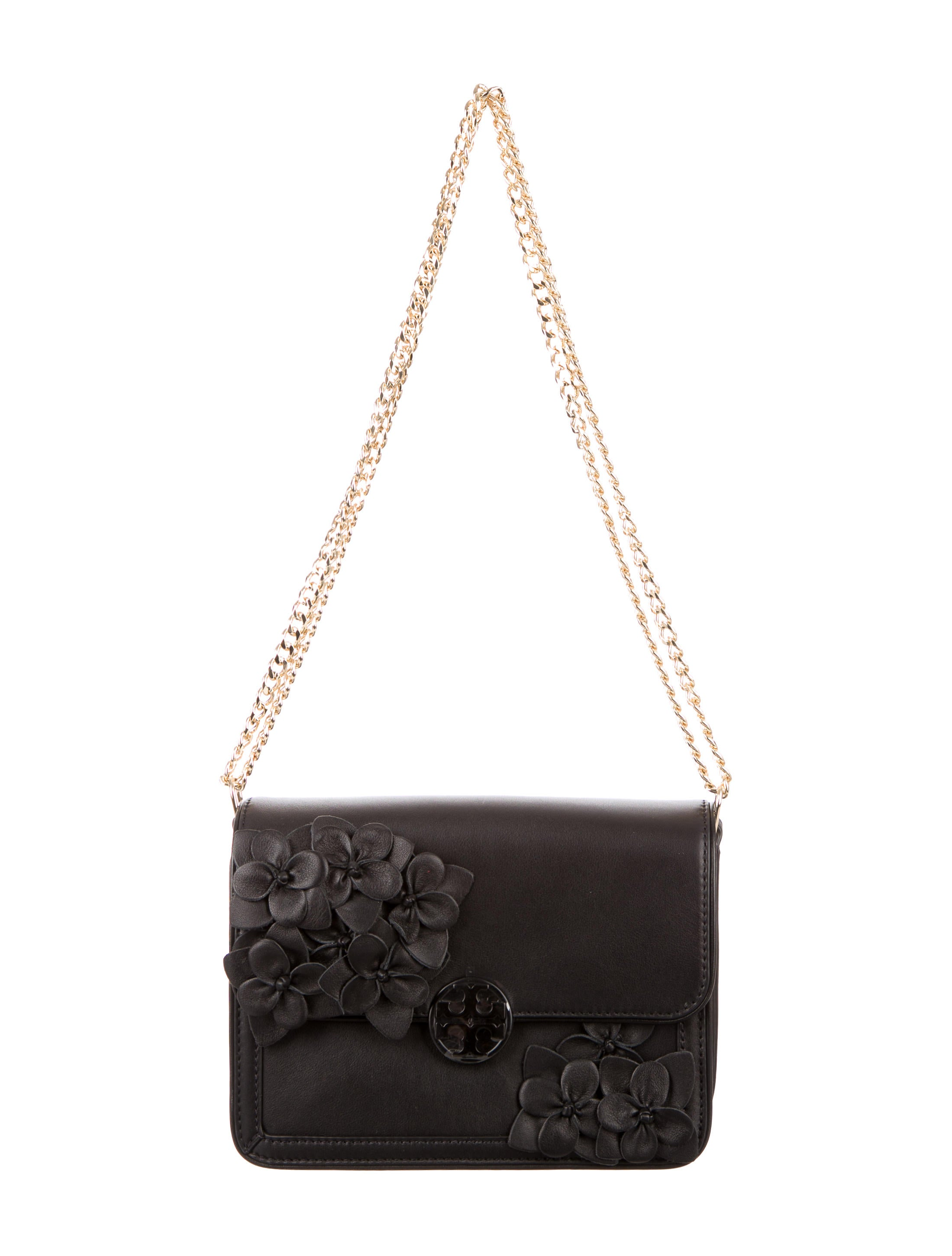 6c37504f1ee Tory Burch Duet Chain Flower Convertible Shoulder Bag w  Tags ...