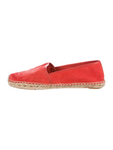 Tory Burch Kirby Espadrille Flats None