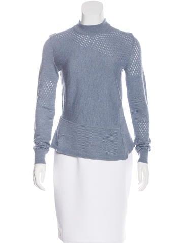 Tory Burch Asymmetrical Knit Sweater None