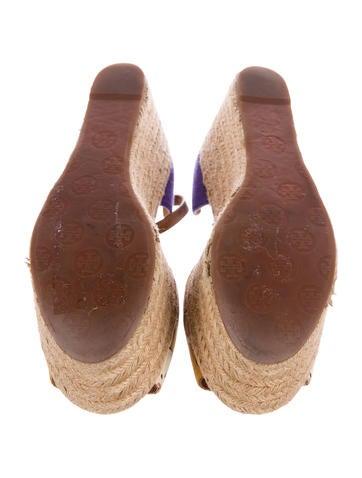 Floral Espadrille Platform Sandals