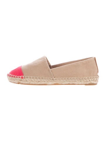 Tory Burch Colorblock Canvas Espadrilles None