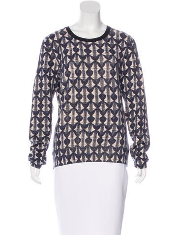 Tory Burch Wool Patterned Top None