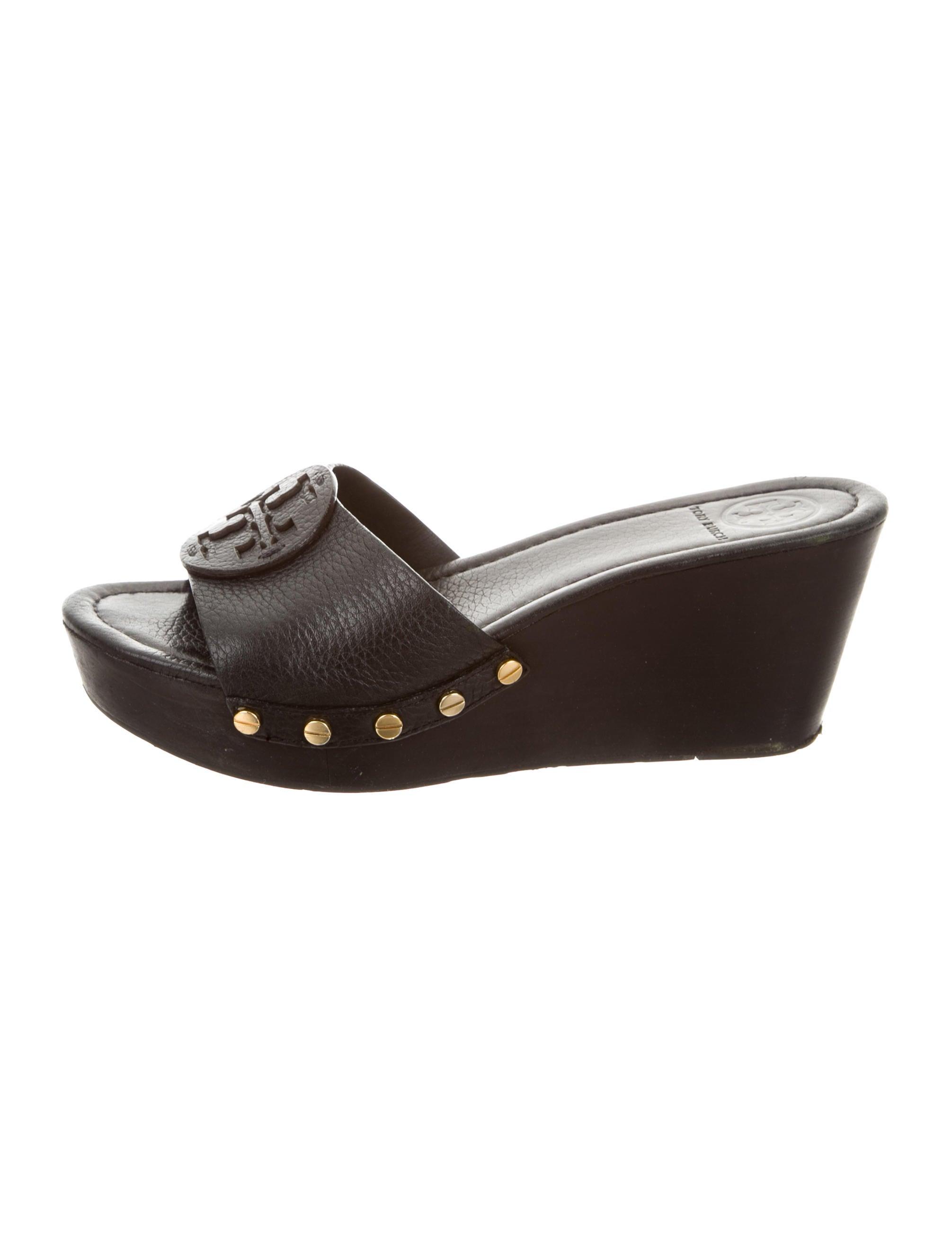 ec4796c23fe Tory Burch Patti Wedge Sandals - Shoes - WTO86266