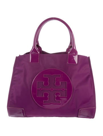 Leather-Trimmed Ella Tote