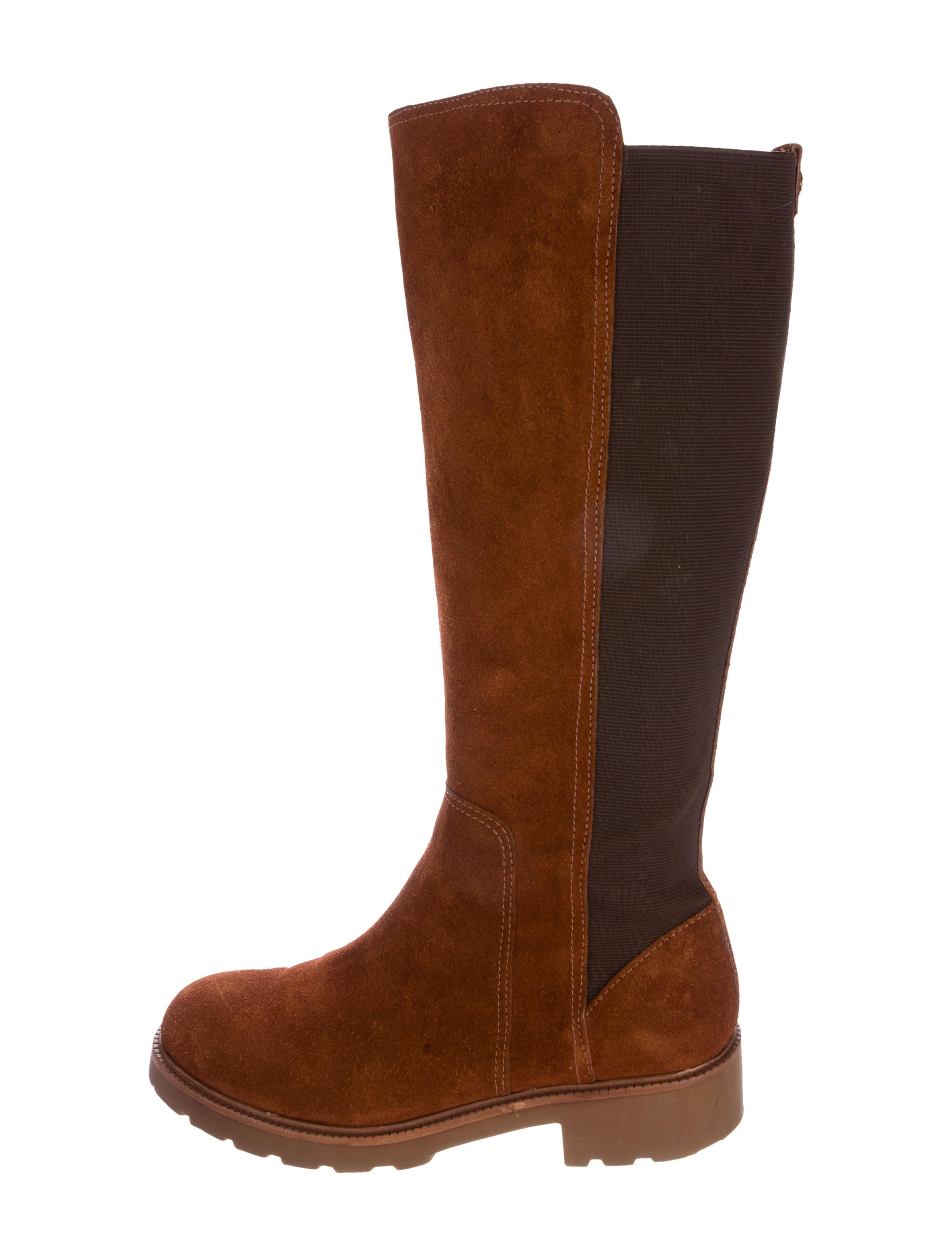 burch suede knee high boots shoes wto88486 the