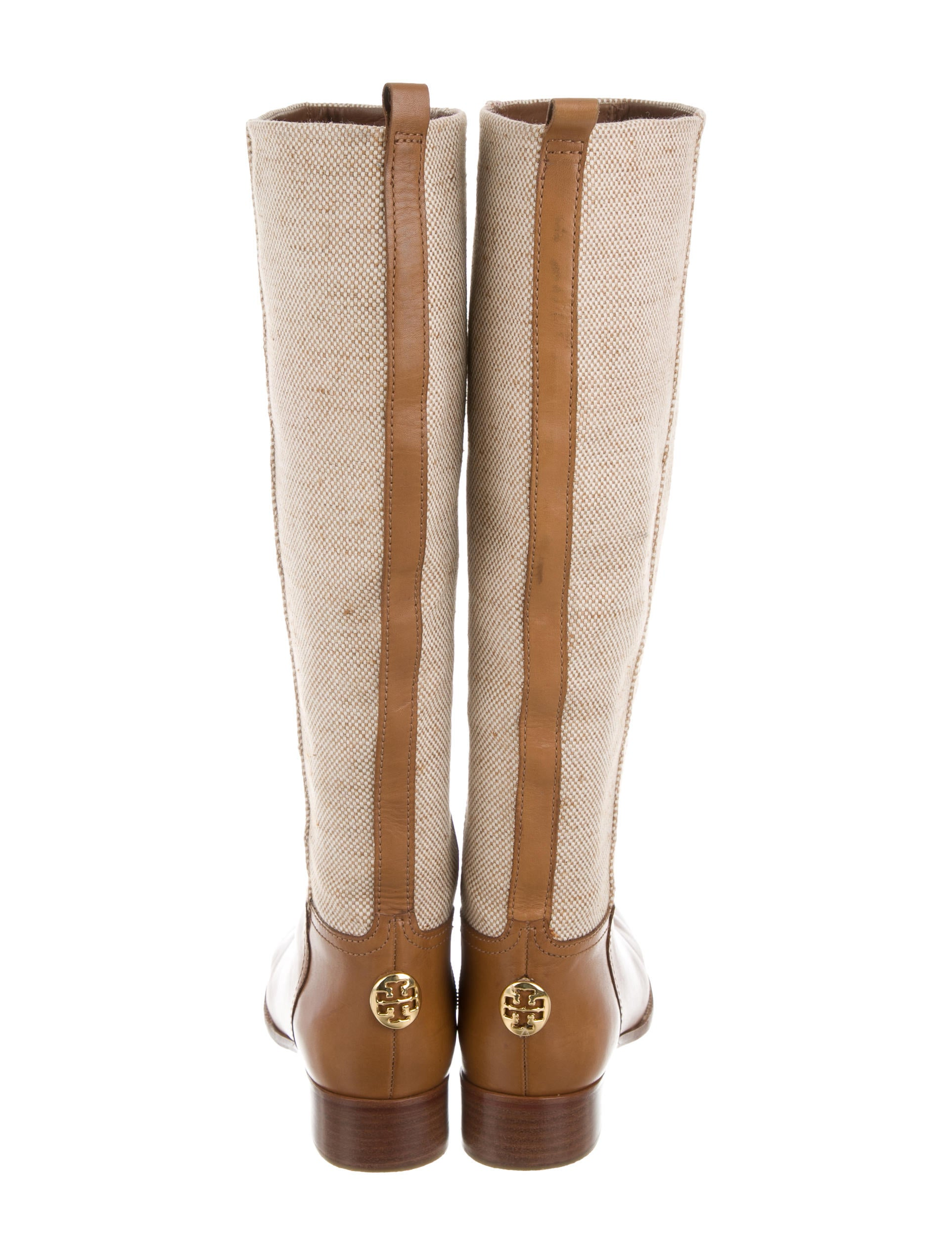 burch canvas knee high boots shoes wto88988 the