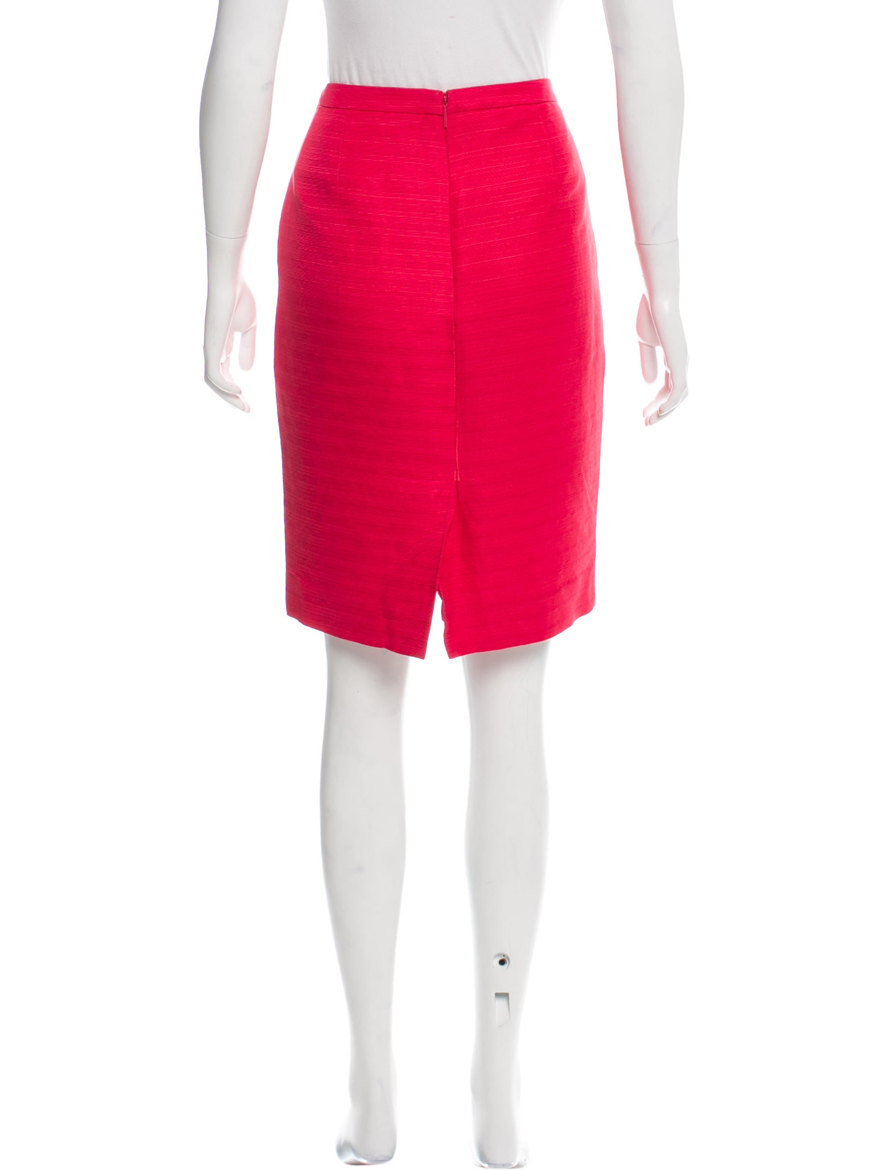 burch knee length pencil skirt clothing wto89042