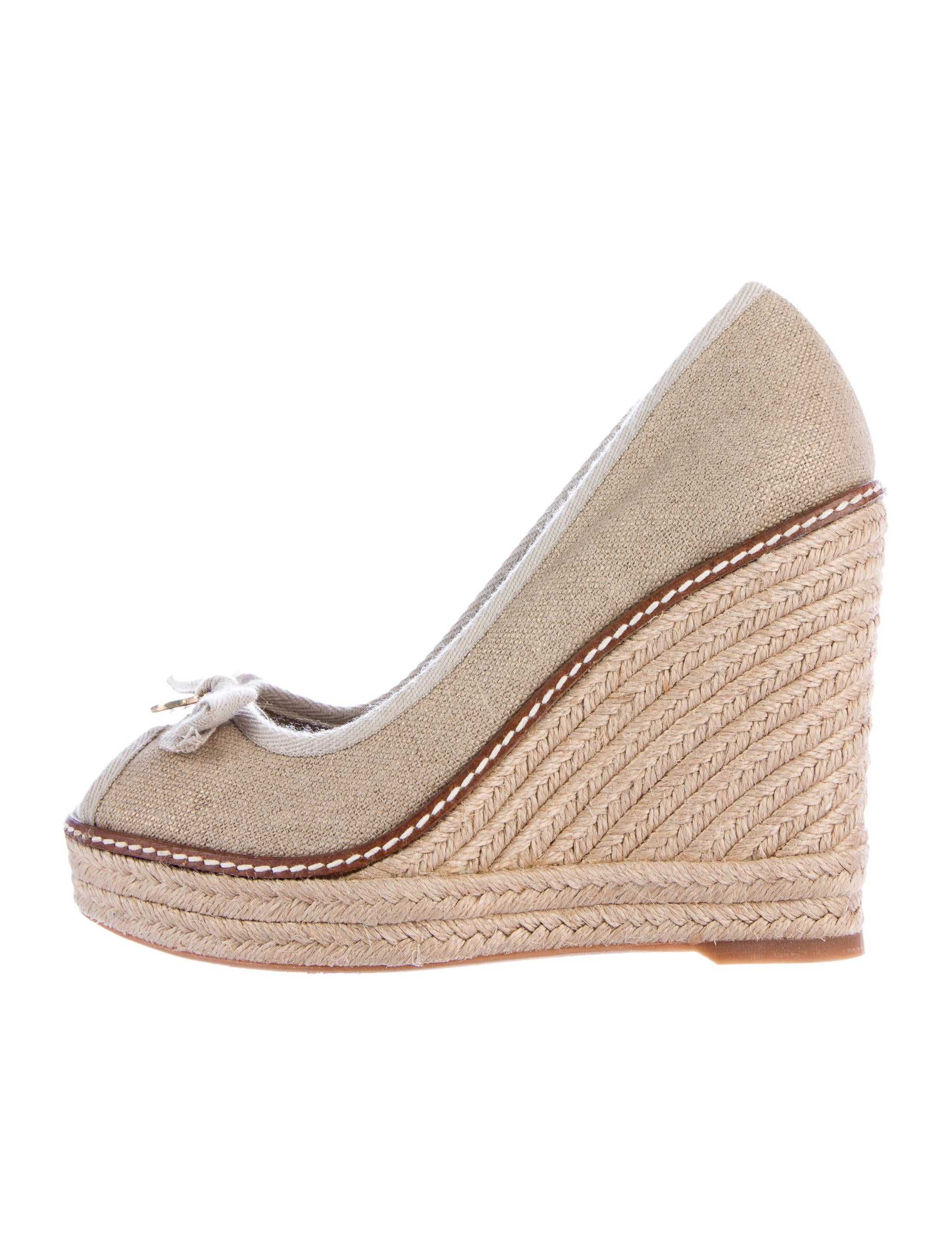 burch canvas espadrille wedges shoes wto89278
