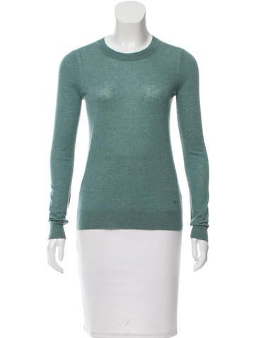 Tory Burch Button-Accented Cashmere Sweater None