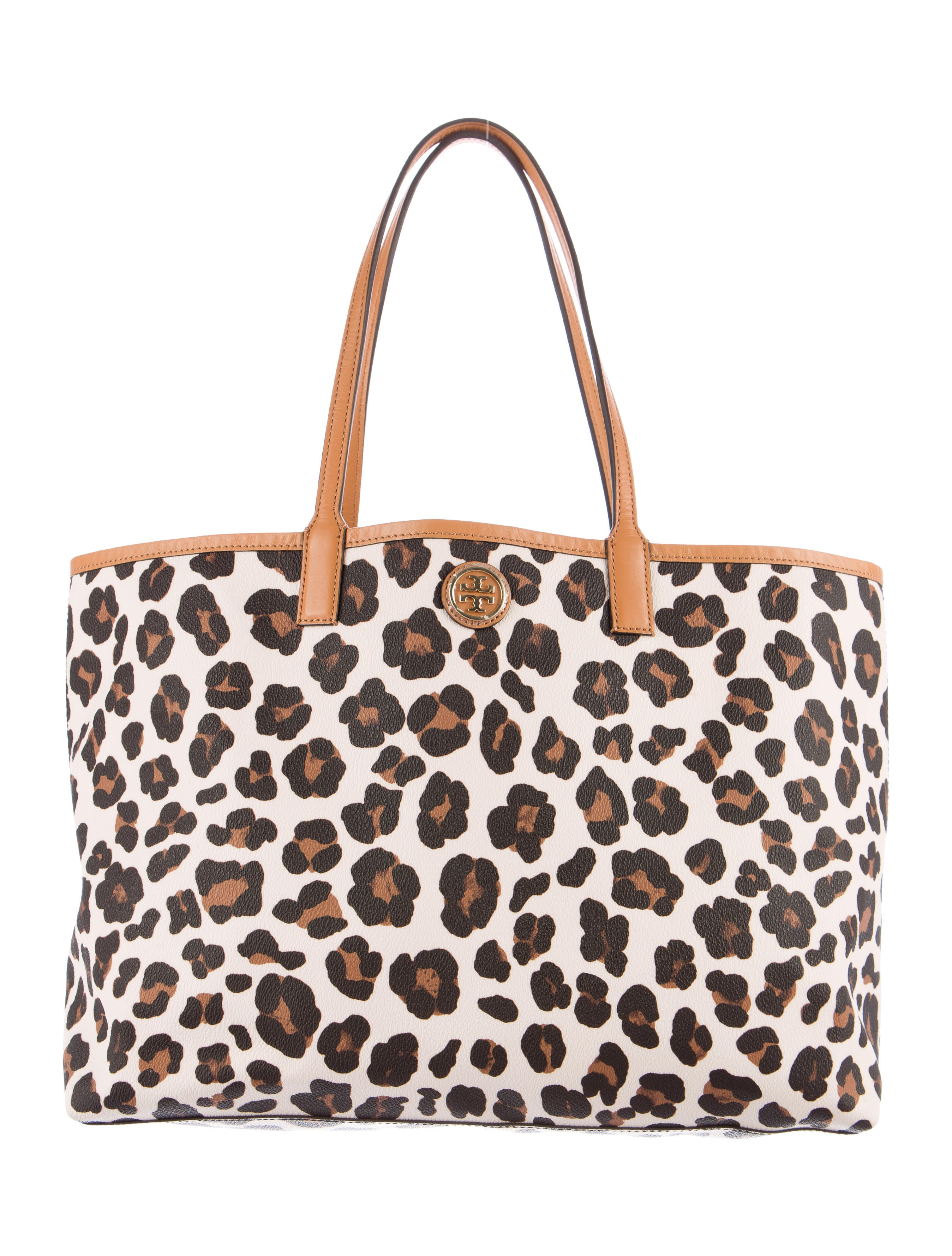 8aedf6fd63ef Tory Burch Kerrington Leopard Print Tote - Handbags - WTO90211   The ...