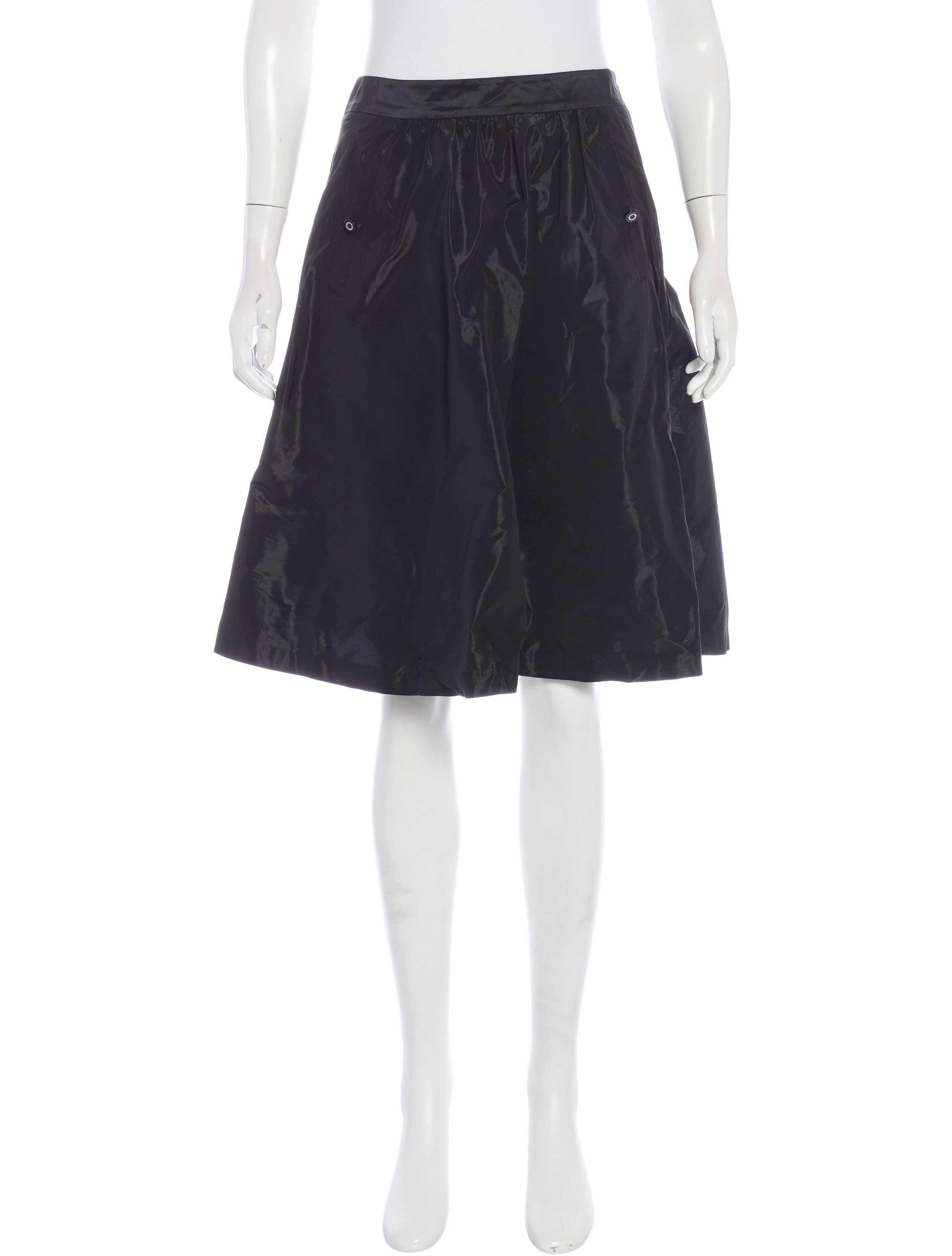 burch knee length a line skirt skirts wto90356