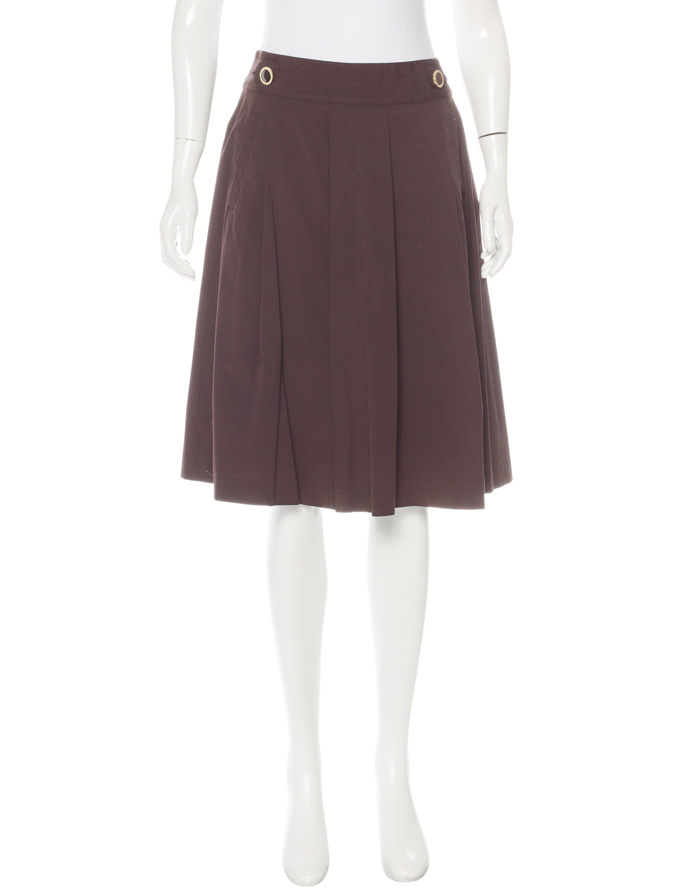 burch knee length a line skirt skirts wto91185
