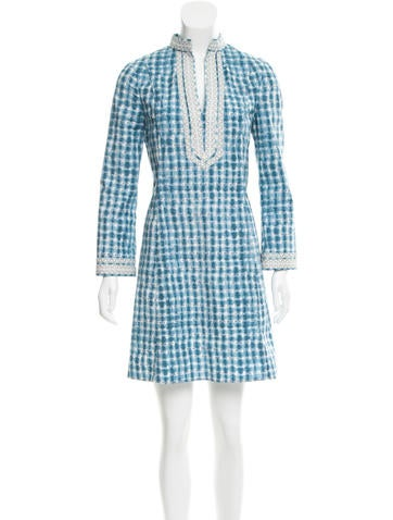 Tory Burch Printed Mini Dress None